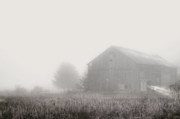 Old Barns Prints - Leave The Lights On Print by Emily Stauring