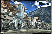 Wa.washington Framed Prints - Leavenworth WA Framed Print by DMSprouse Art