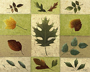 Arkansas Paintings - Leaves by Mary Ann King