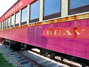 Old Caboose Photos - Leaving by Michelle Milano