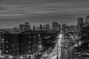 Richmond Virginia Prints - Leaving on Main Print by Tim Wilson