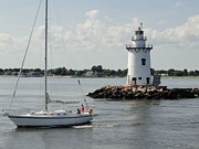 Saybrook Prints - Leaving Saybrook Print by Meandering Photography