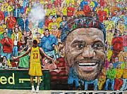 Cleveland Cavaliers Originals - Lebron by David Hipwell
