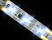 Electroluminescence Posters - Led Light Strip, Macrophotograph Poster by Pasieka