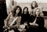 Rock Music Metal Prints - Led Zeppelin 1969 Metal Print by Chris Walter