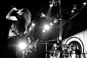 Performing Photo Acrylic Prints - Led Zeppelin 1972 Acrylic Print by Chris Walter