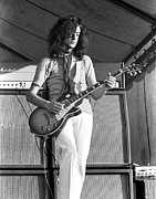 Led Zeppelin Photo Prints - Led Zeppelin Jimmy Page 69 Print by Chris Walter
