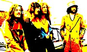 Led Zeppelin Prints Art - Led Zeppelin by Paula Sharlea