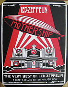 Zeppelin Painting Originals - Led Zeppelin by Sam Hain