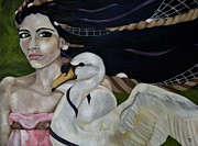 Leda Originals - Leda and the Swan by Victoria Dietz