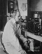 Electronic Photos - Lee De Forest, American Inventor by Science Source