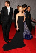 Strapless Dress Prints - Lee Pace, Sarah Michelle Gellar Print by Everett
