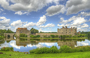 Fortifications Prints - Leeds Castle Reflected Print by Chris Thaxter