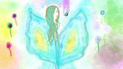 Leelavy Fairy / Fada Leelavy Print by Rosana Ortiz