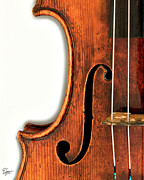 The Violin - Left F by Endre Balogh