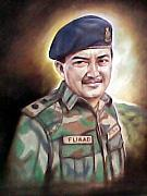 Army Pastels - Left.General Fuaad from Rangers Platoon by Suhaimy Abdullah