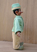 Elf Sculpture Posters - Lefty 2 - Profile Poster by David Wiles