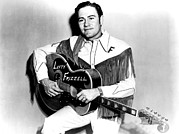 Western Shirt Framed Prints - Lefty Frizzell, 1950s Framed Print by Everett