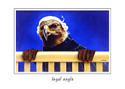 Legal Art - Legal Eagle... by Will Bullas