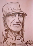 Willie Nelson Posters - Legalize Poster by Pete Maier