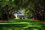 Legare Waring House Charleston Sc Print by Susanne Van Hulst