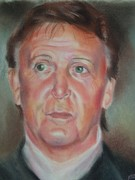 Beatles Pastels Originals - Legend by Joanna Gates