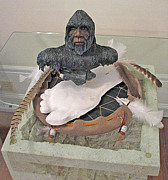 Myth Sculptures - Legend of Sasquatch by Billy Leslie