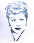 Lucille Ball Posters - Legend Poster by Robbi  Musser