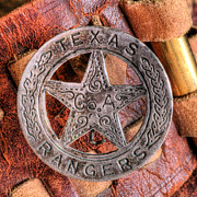 Texas Rangers Prints - Legends  Print by JC Findley