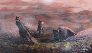 Rifle Painting Originals - Legends of the Hunt by Don Hutchison
