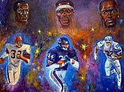 Hall Of Fame Painting Framed Prints - Legends Framed Print by Tommy  Winn
