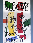 Write Prints - Leger: Liberty, 1953 Print by Granger