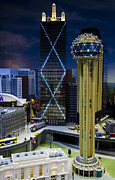 Mills Photos - Legoland Dallas II by Ricky Barnard