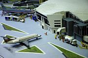American Airlines Framed Prints - Legoland Dallas III Framed Print by Ricky Barnard