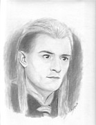 Legolas Prints - Legolas Print by Amy Jones