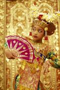 Beautiful Child Prints - Legong Dancer Print by Dana Edmunds - Printscapes