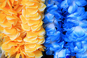 Carnations Photos - Leis by Cheryl Young
