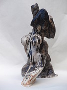 Prints Sculptures - Lelais Sculpture by Mario  Feijoca