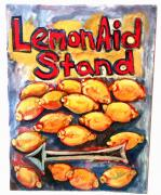 Don Thibodeaux Art - Lemon Aid Stand 2 by Don Thibodeaux