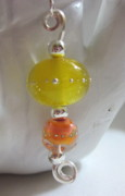 Peach Jewelry Originals - Lemon and Peach Sherbert Necklace by Janet  Telander
