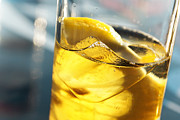 Back-light Prints - Lemon Drink Print by Carlos Caetano
