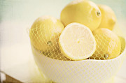 Citrus Fruit Posters - Lemons Poster by Kim Fearheiley