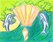 Lemuria Atlantis Print by Kim Sy Ok