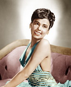 Halter Dress Prints - Lena Horne, Mgm Portrait, Ca. 1940s Print by Everett