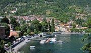 Lake Prints - Lenno Lake Como Print by Marilyn Dunlap
