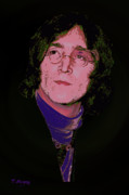 John Digital Art - Lennon - Imagine More by Tony Marquez
