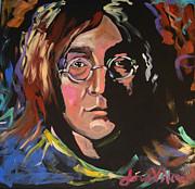 Lennon Print by Jean Alexander