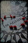 Imagine Prints - Lennon Memorial Print by Chris Lord