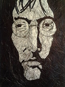 John Lennon Art Drawings - Lennon by Nzephany Madrigal Uzoka