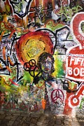 The Beatles  Photos - Lennon Wall, Prague by Mark Williamson